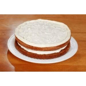 Lekkie ciasto marchewkowe z kremem cytrynowym
