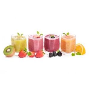 Puszyste smoothie owocowe