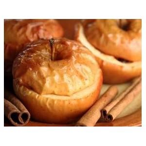 Pieczone jabłka z żurawiną