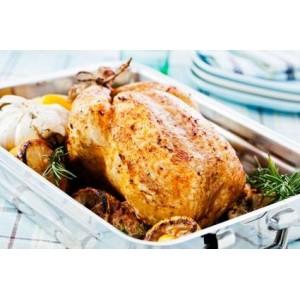 Kurczak* pieczony w słodkim sosie cytrynowo-tymiankowym